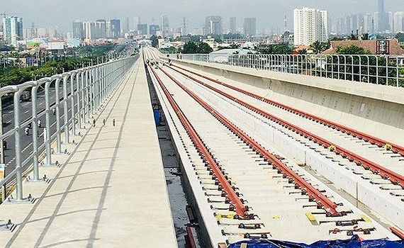 The Ho Chi Minh City's first metro line Ben Thanh-Suoi Tien