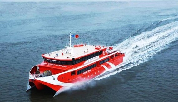 High-speed boat linking Can Tho, Con Dao launched