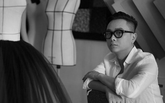 Fashion designer Nguyen Cong Tri