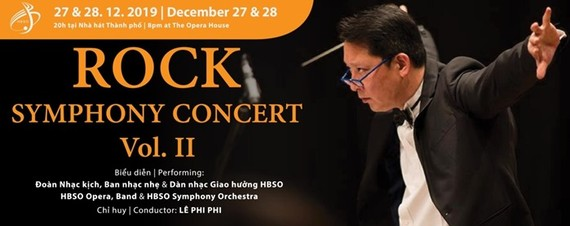 HBSO's rock symphony concert presented in city