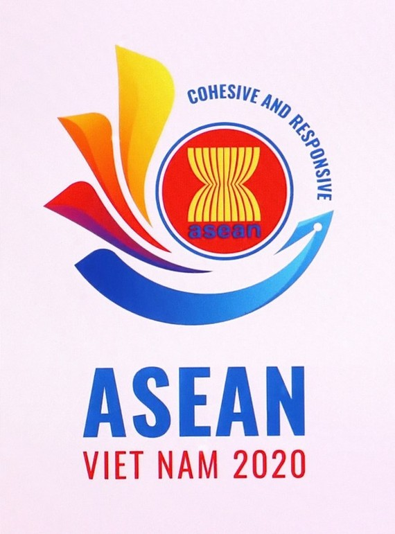 The official logo of the ASEAN Year 2020.