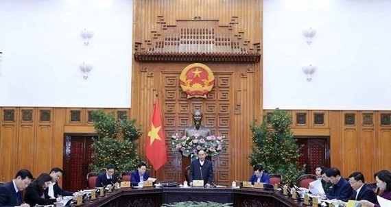 Prime Minister Nguyen Xuan Phuc speaks at the conference (Source: VNA)