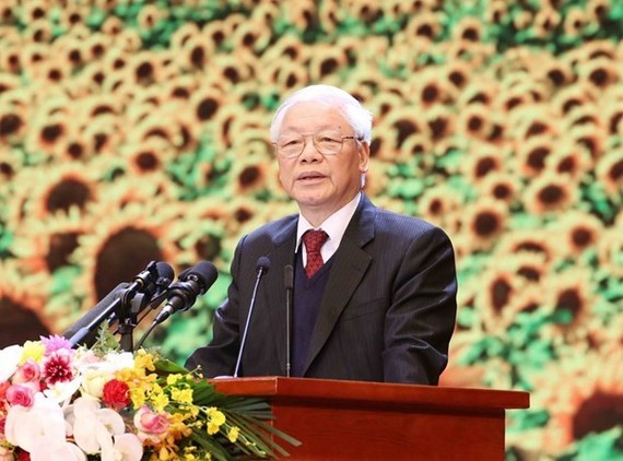 General Secretary of the CPV Central Committee and President Nguyen Phu Trong (Photo: VNA)