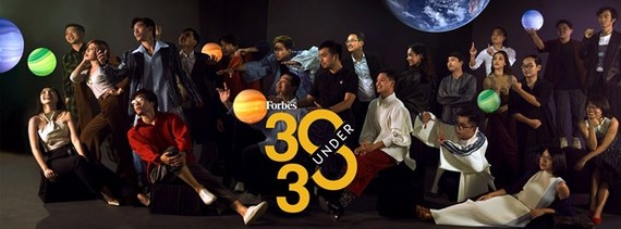 """Forbes Vietnam magazine on February 3 announces the """"30 Under 30"""" list in 2020. (Source: Forbes Vietnam)"""
