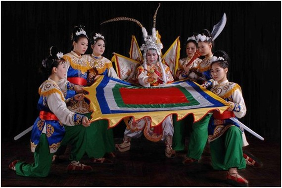 A Tuong performance (Photo: vietnamtuongtheatre.com)