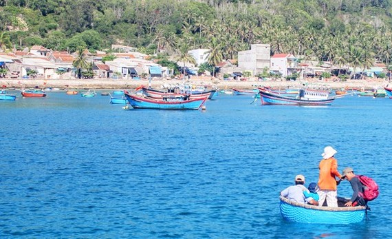 Cu Lao Xanh (Xanh Island) in Nhon Chau Commune, Quy Nhon City in the central coastal province of Binh Dinh