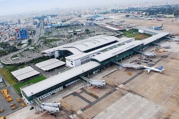 Tan Son Nhat International Airport in HCM City, the country's largest and busiest airport. (Photo courtesy of ACV)