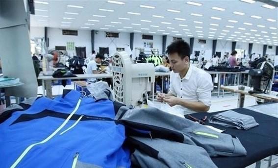 A garment factory in Pho Noi A Industrial Park, Hung Yen province (Photo: VNA)