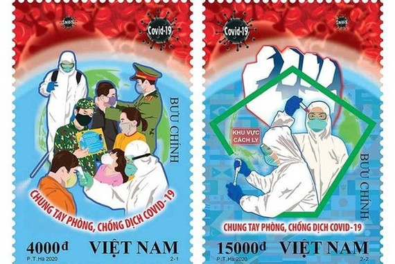 New stamps salute every person fighting against COVID-19