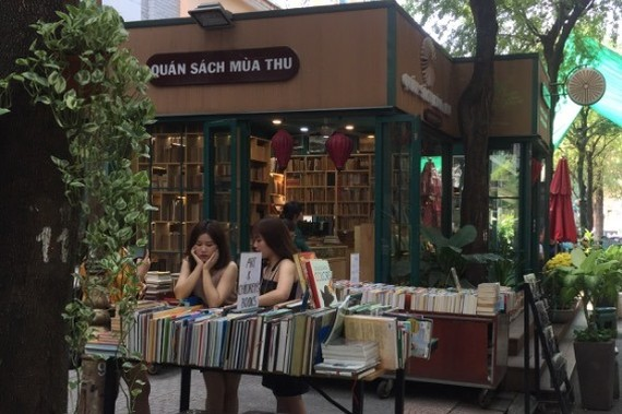 The first-ever online book fair will be held in celebration of the 7th Vietnam Book Day. (Photo: KK)