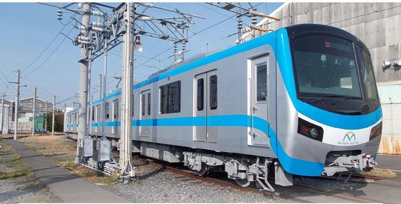 Metro trains expected to be shipped to HCMC in Q2