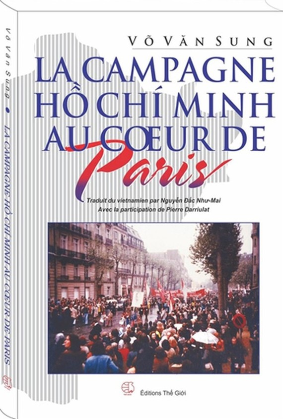 The cover of the book (Photo: The Gioi Publishing House)