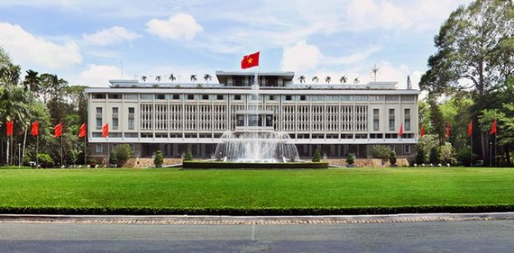 The Independence Palace in Ho Chi Minh City