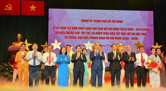 HCMC hosts ceremony celebrating President Ho Chi Minh's 130th birthday. (Photo: SGGP)