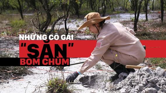 Vietnam's unique female team reclaims mine-contaminated land