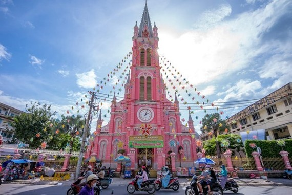 Tan Dinh Church (Photo: VNA)