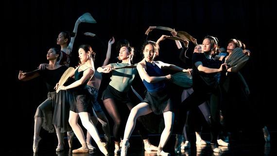 A scene in the ballet, Truyen Kieu