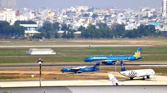 Tan Son Nhat airport  (Photo: SGGP)