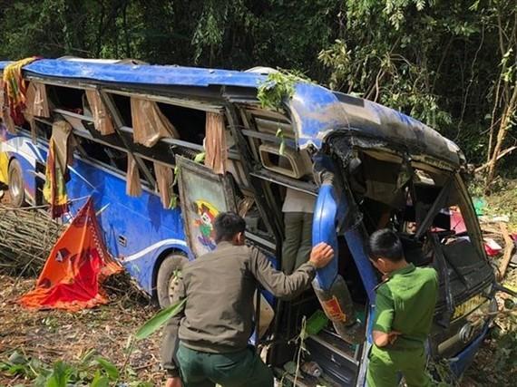 Accident scene (Source: VNA)