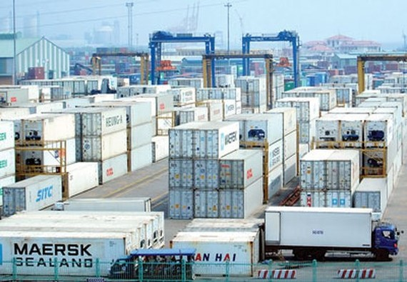 HCMC should collect infrastructure fees at seaports to ease pressure on the State budget, its Department of Transport has suggested.(Photo:SGGP)