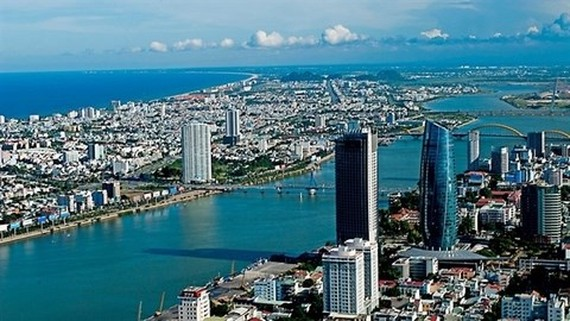 A view of Da Nang. The real estate market has been least affected by the pandemic. (Photo: tapchitachinh.vn)