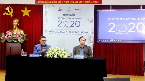 At the press conference (Photo: SGGP)