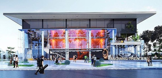 Design of An Giang Theater