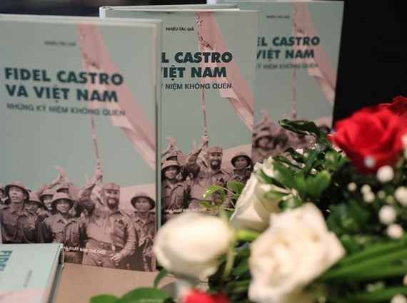 The book on display at the debut (Photo: VNA)