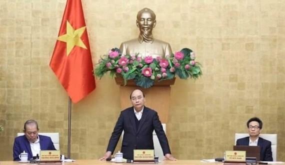 Prime Minister Nguyen Xuan Phuc at the meeting (Photo: VNA)