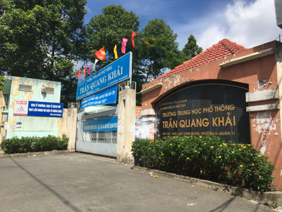 Tran Quang Khai High School in District 11