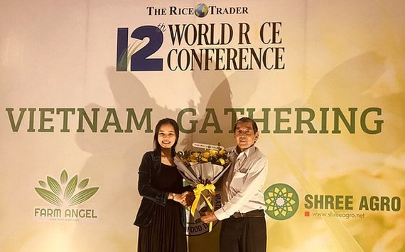 Vietnam's ST25 organic rice from the Mekong Delta Province of Soc Trang receives the second place award at the World's best rice contest 2020.
