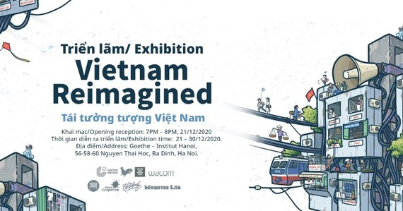 First illustrations exhibition honoring Vietnam's beauty held in Hanoi