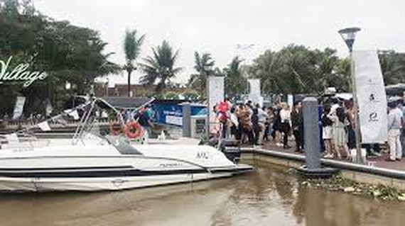 First yacht show opens in city