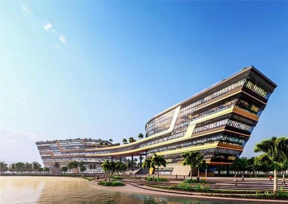 Design of the National Innovation Centre (Photo: baodautu.vn)