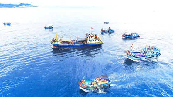 Decree No.11/2021/ND-CP provides regulations on the allocation of sea areas. (Photo: SGGP)