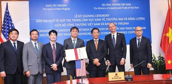 The MoU was signed online on February 25 .