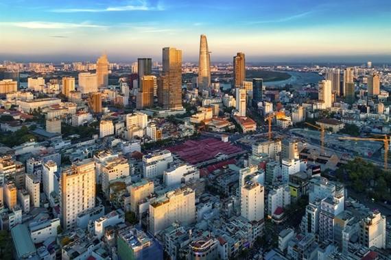 A view of HCM City (Photo: VNA)