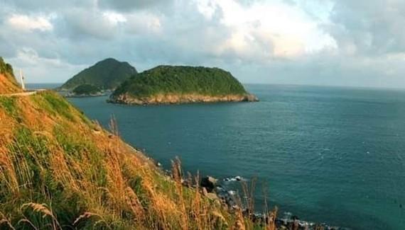 A view of the sea off Con Dao Island (Photo: VNA)