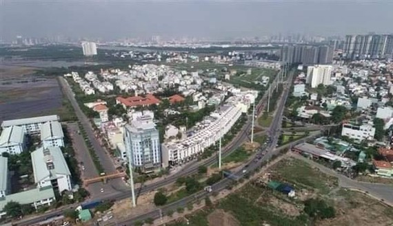 A corner of HCM City (Photo: VNA)