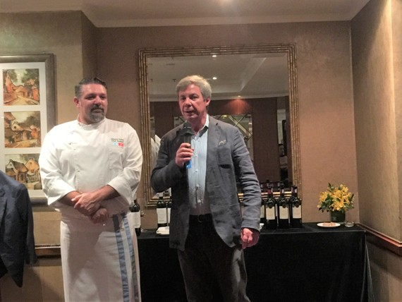 Đại sứ Argentina tại Việt Nam giới thiệu về bếp trưởng Alberto Curia