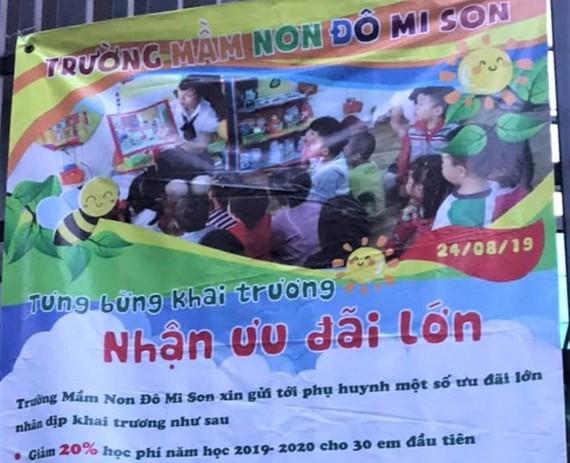 Nhóm trẻ Đô Mi Son, nơi xảy ra vụ việc bé trai 15 tháng tuổi tử vong
