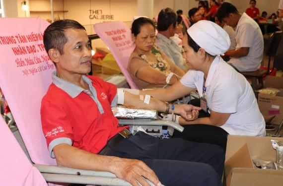 Khuyến khích các tổ chức, cá nhân tham gia hiến máu nhân đạo