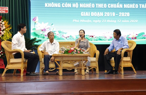 Các gương điển hình chia sẻ cách làm hay trong công tác giảm nghèo trên địa bàn quận Phú Nhuận