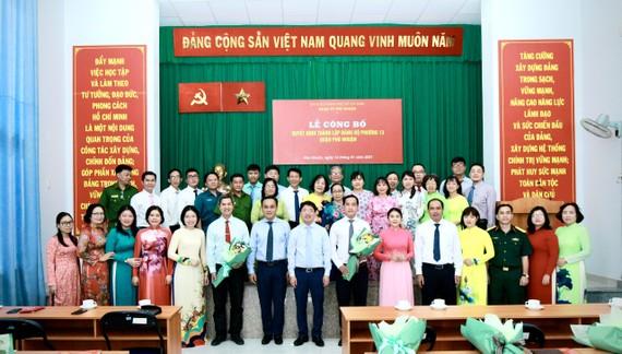 Ban Chấp hành Đảng bộ phường 13, quận Phú Nhuận ra mắt