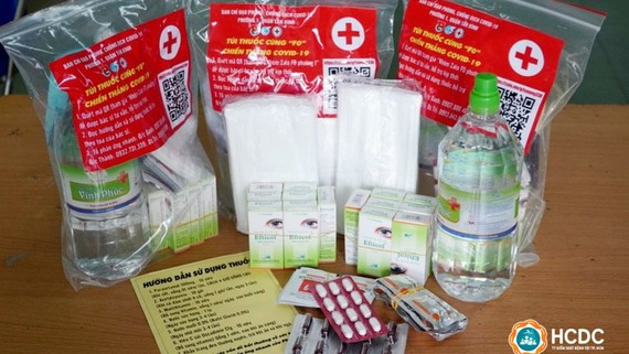 TPHCM mua bổ sung 200.000 túi thuốc cho F0 điều trị tại nhà