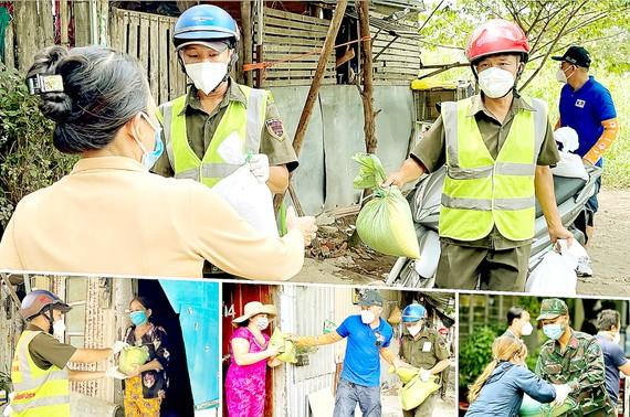 Công tác an sinh xã hội được TPHCM đẩy mạnh nhằm hỗ trợ người dân khó khăn do dịch Covid-19. Ảnh: HOÀNG HÙNG