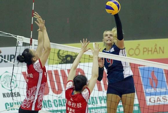 Cúp bóng chuyền nữ quốc tế VTV9 Bình Điền 2019: Chỉ còn chờ đội tuyển Indonesia ảnh 3