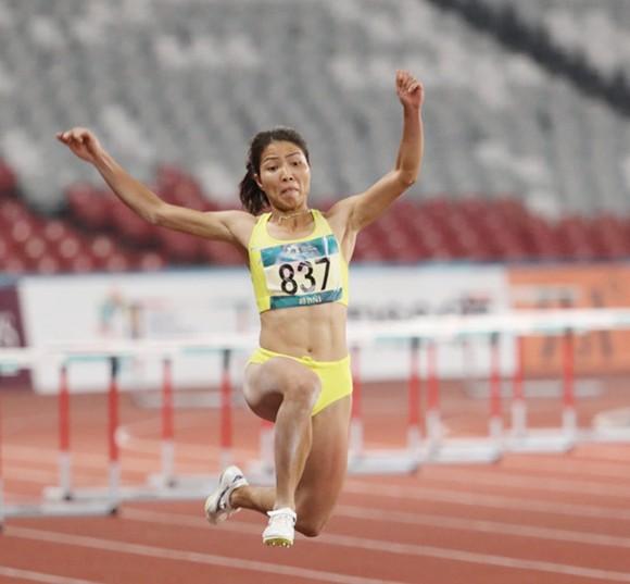 VĐV Bùi Thị Thu Thảo sẽ phải nỗ lực rất nhiều mới chạm đến chuẩn dự Olympic 2020.