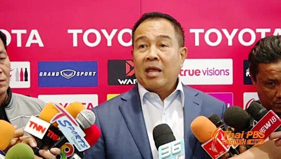 Chủ tịch LĐBĐ Thái Lan (FAT) Somyot Poompunmuang thừa nhận đang gặp khó khăn.