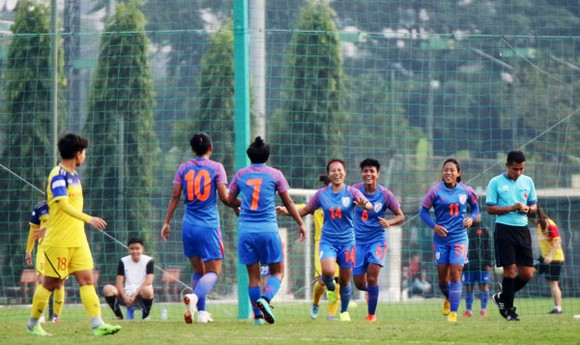 Đội tuyển nữ Việt Nam hòa tuyển Ấn Độ 1-1 ảnh 1